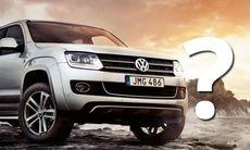 Nej, Volkswagen har inte döpt specialversionen av Amarok till fel namn