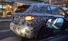 Spion: BMW X1 och 5-serie visar upp sig – mitt i stan
