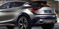 Infiniti QX30 visar upp sig – bygger på Mercedes GLA