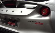 Vi kollar in Lotus Evora 400 på Genèvesalongen