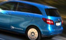 Stor plump i protokollet för eldriven Mercedes B-klass