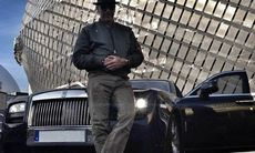 Mikael Persbrandts senaste bilinköp: en Rolls-Royce Ghost