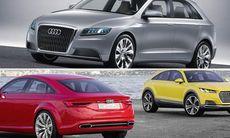 Audi ska lansera TT Sportback, A3 Allroad och en familjebuss