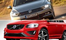 Bilförsäljningen går på högvarv – Volvo och Volkswagen är vinnarna