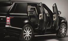 Bepansrade Range Rover Sentinel har hemlig nödutgång