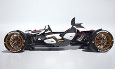 Honda Project 2&4 kombinerar motorcykel och bil