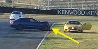 Mercedes C63 S AMG krockar med Mercedes-AMG GT S