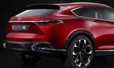 Mazda Koeru visar hur en kommande coupésuv kan se ut