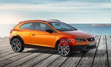 Seat Leon Cross Sport Concept – officiella bilder