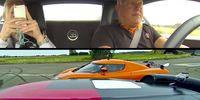 Christian von Koenigsegg kör dragrace mot Bugatti Veyron