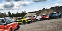 TEST: Citroën C4 Cactus, Fiat 500X City, Mazda CX-3, Skoda Yeti, Suzuki Vitara, Renault Captur