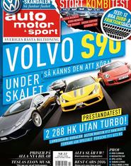 22/2015: Så känns Volvo S90 – Fem bilar i kombitest – Vinterdäcktest