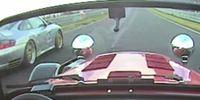 Fantastisk fight mellan Porsche och Caterham på Ringen