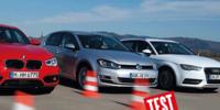 TEST: Audi A3 Sportback 1,6 TDI Ultra, BMW 116d och VW Golf 1,6 TDI BMT
