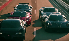 LaFerrari, McLaren, Porsche 918, Bugatti och Pagani i ett drömtest