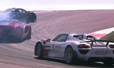 Chris Harris kör LaFerrari, Porsche 918 och McLaren P1