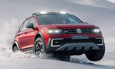 "Volkswagen Tiguan GTE Active Concept visar eldriven ""skogsmulle"""