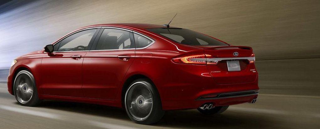"""Ford Fusion uppdateras med ny sportmodell: """"Starkare än BMW"""""""