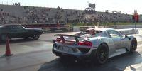 Porsche 918 Spyder som dragracingbil – varför inte?