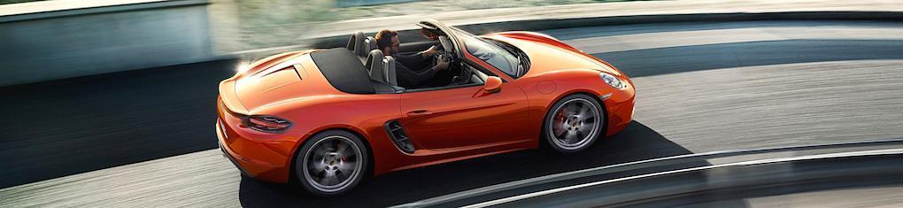 Porsche 718 Boxster – fler bilder och filmer