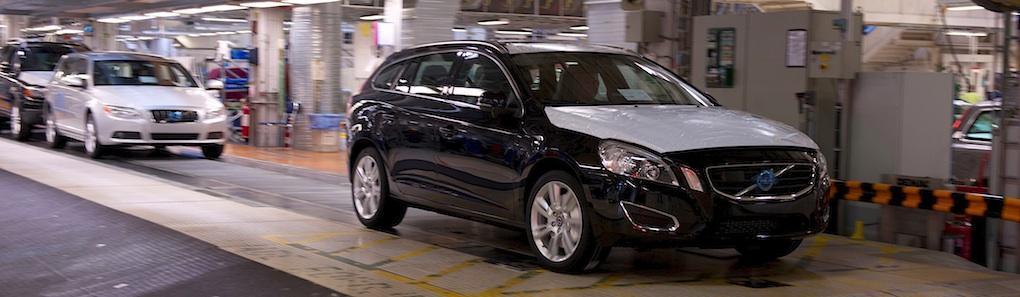 Volvo flyttar produktionen av V60 från Torslanda till Gent
