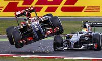 Kraschkungen Pastor Maldonado lämnar Formel 1 – ersätts av Magnussen