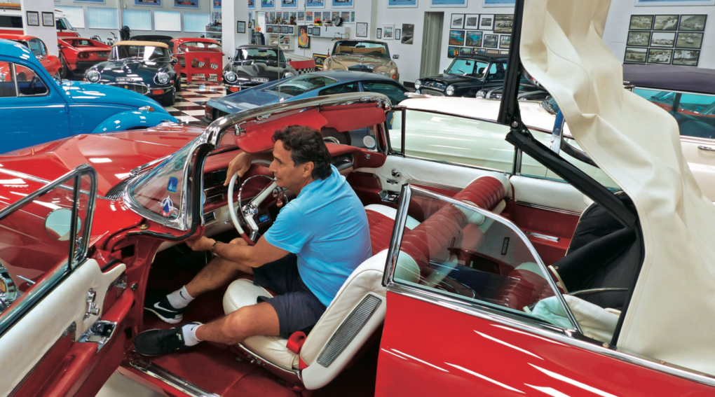 Nelson Piquet avslöjar sitt privata garage – många godbitar!