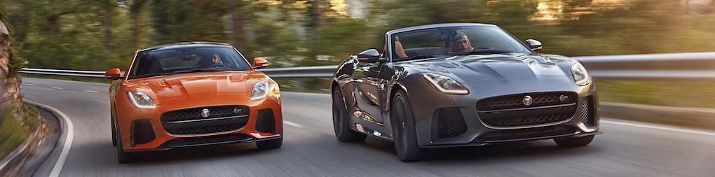Jaguar F-Type SVR utmanar med bantad vikt och 575 hk