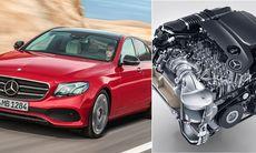 Helt ny dieselmotor i nya Mercedes E-Klass