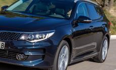 Kia Optima Sportwagon ska locka svenska bilköpare
