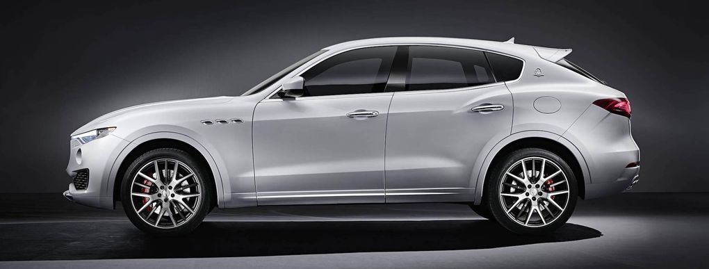 Maserati Levante är märkets första suv – så här ser den ut