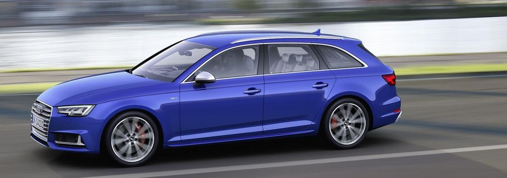 Audi S4 Avant ska kombinera last och lust med ny turbomotor