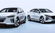Hyundai Ioniq – först med tre olika elektriska drivlinor