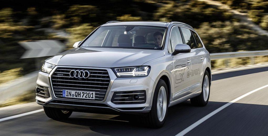 Audi Q7 E-tron 3,0 TDI Quattro – svenska priser officiella