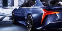 Lexus LF-FC – föraning av kommande flaggskeppsmodell