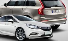 Opel Astra blir Årets Bil – Volvo XC90 snuvas på vinsten