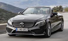 Mercedes C-klass Cabriolet utmanar Audi och BMW