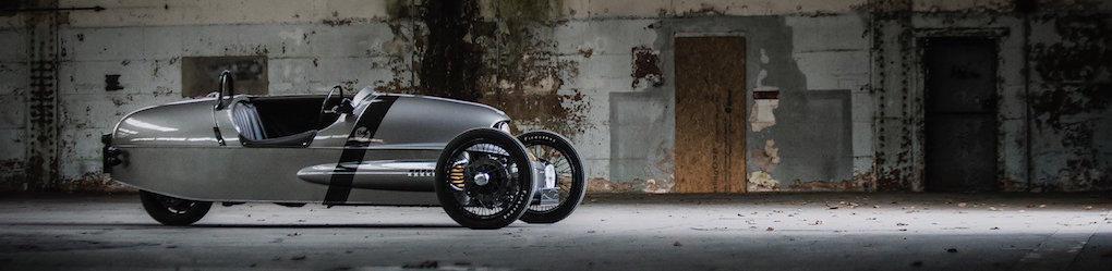 Morgan EV3 kombinerar eldrift med seriöst kul körning