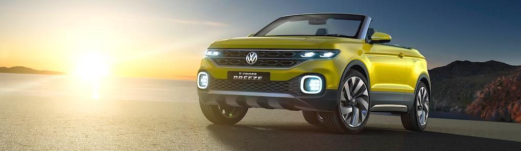 Volkswagen T-Cross Breeze blir verklighet 2018