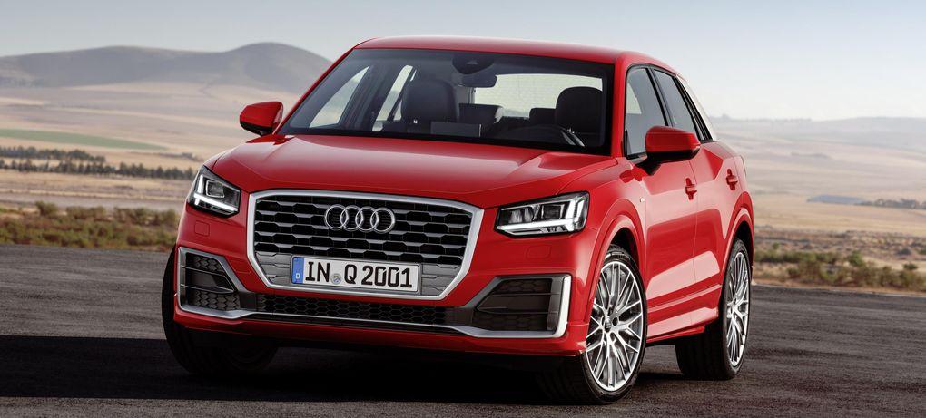 Officiell: Audi Q2 med låg vikt och uppkäftig design