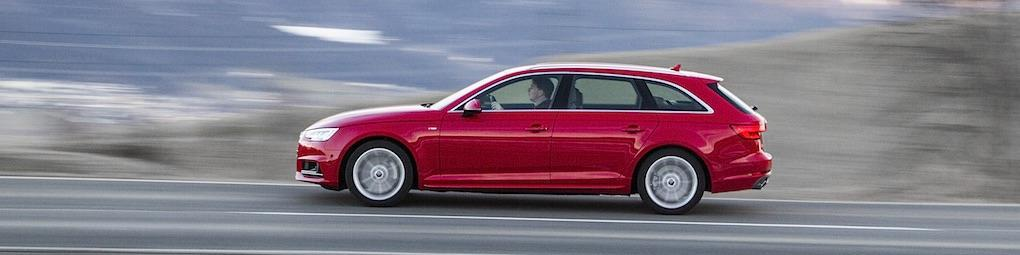 Provkörd: Audi A4 med nya quattro ultra 4WD
