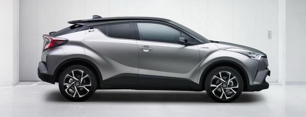 Toyota C-HR ska locka köpare med väldigt annorlunda designspråk