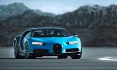 Bugatti Chiron kan drifta – här är filmbeviset