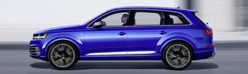 Audi SQ7 TDI – först i världen med elektrisk turbo och 48V
