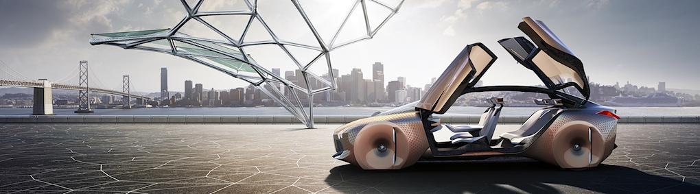 BMW Vision Next 100 firar 100-årsjubileum genom att se framåt