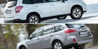 BEG: Subaru Forester mot Subaru Outback