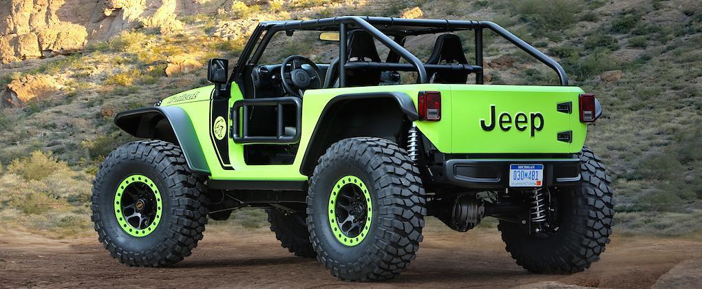 Jeep Trailcat får Hellcat-V8 med 717 hk – helt galet!