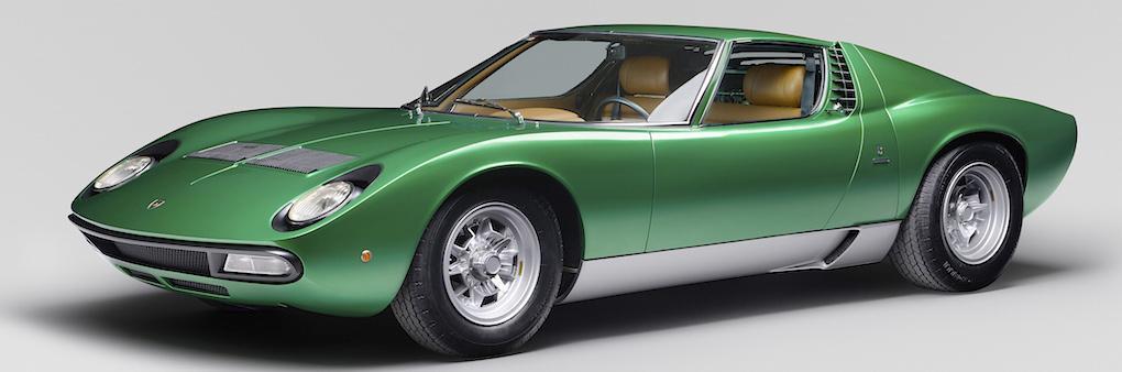 Lamborghini Miura SV – världens vackraste bil i unikt nyskick