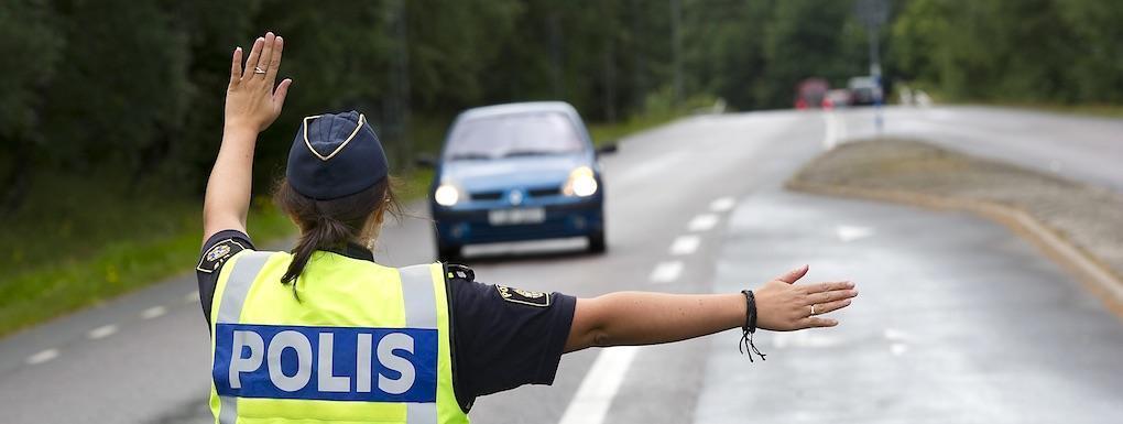 Extrainsatt poliskontroll – se upp i trafiken