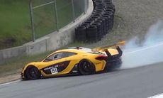 Världens mest berömda kurva lurar en McLaren P1 GTR